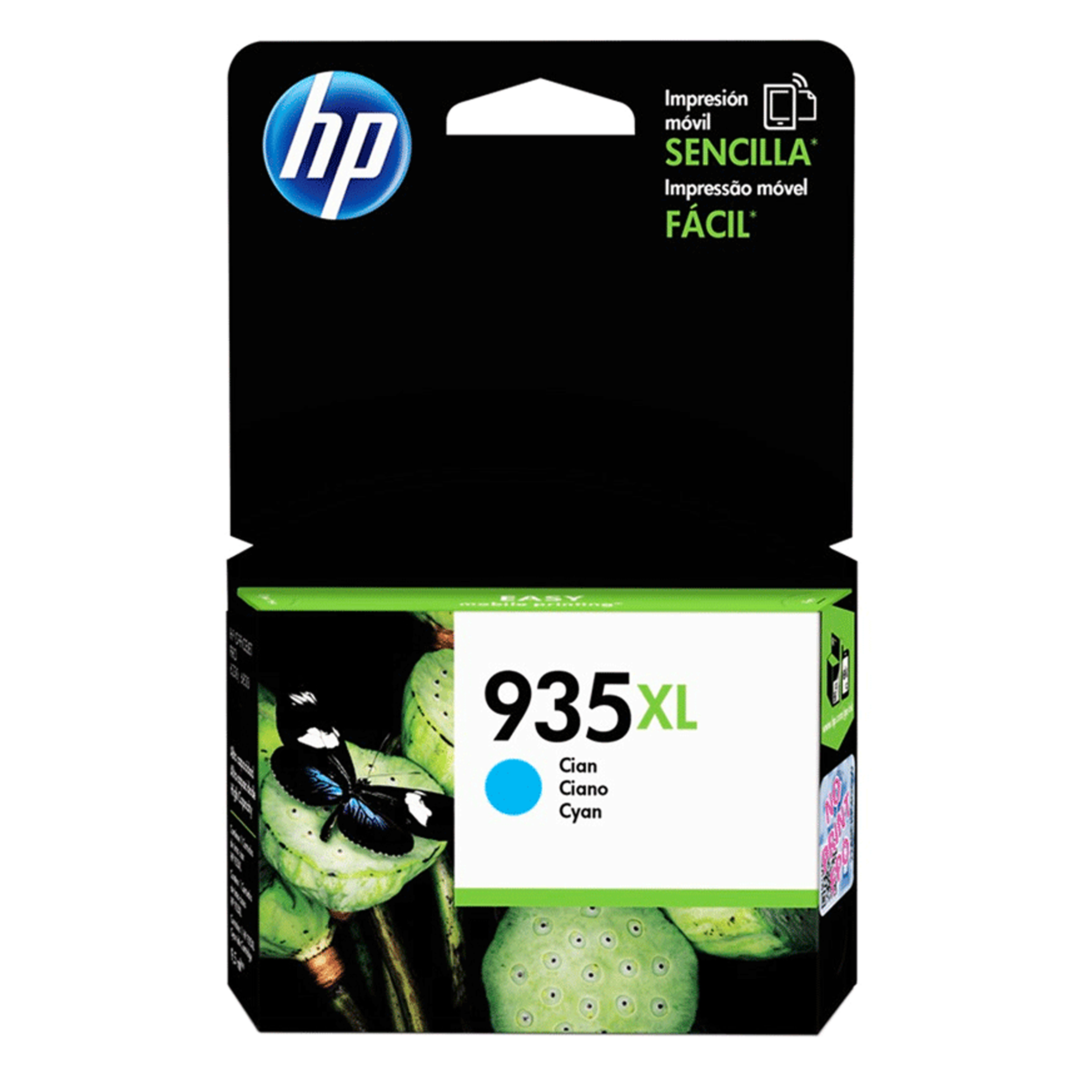 CARTUCHO HP # 935 Xl Cyan