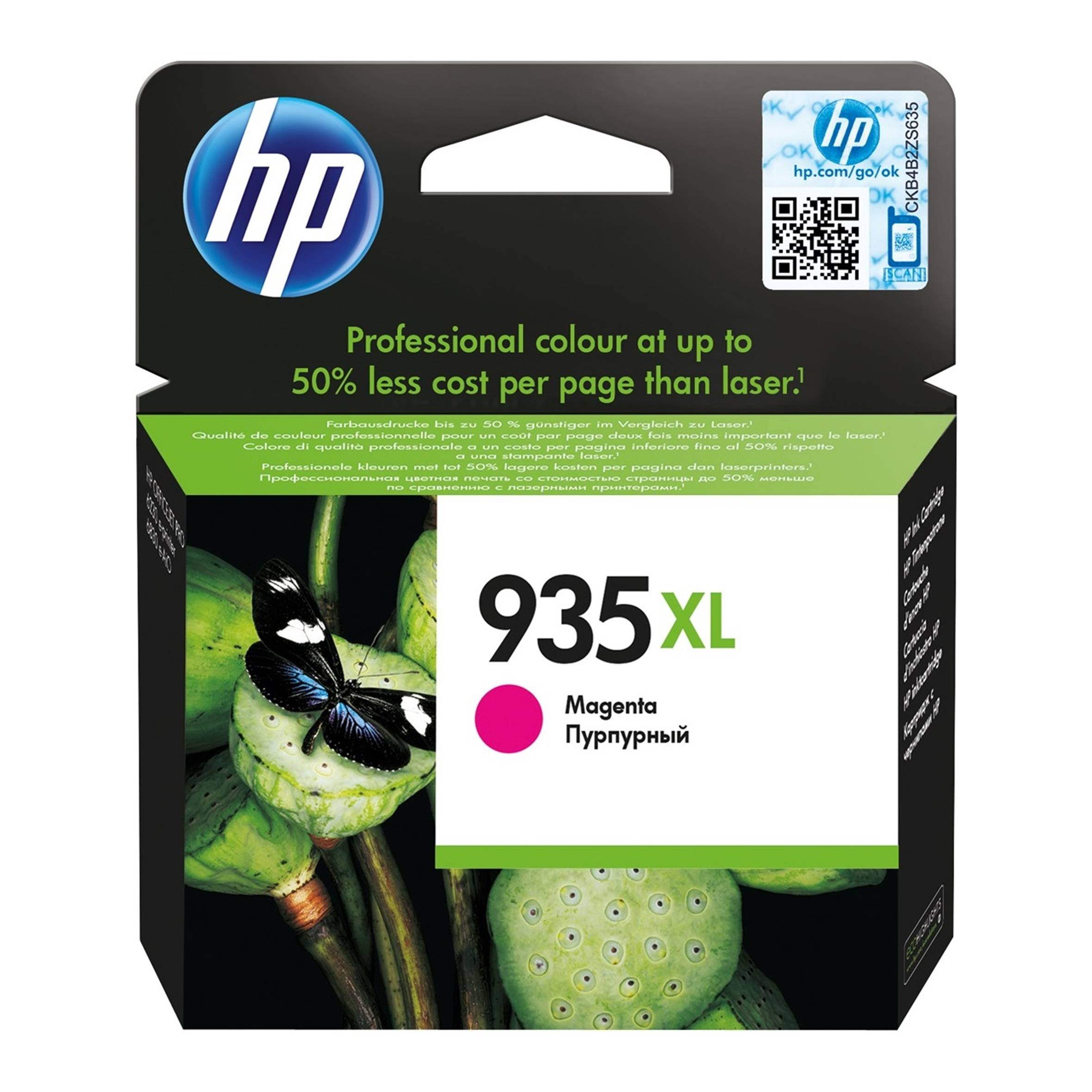 CARTUCHO HP # 935 Xl Magenta