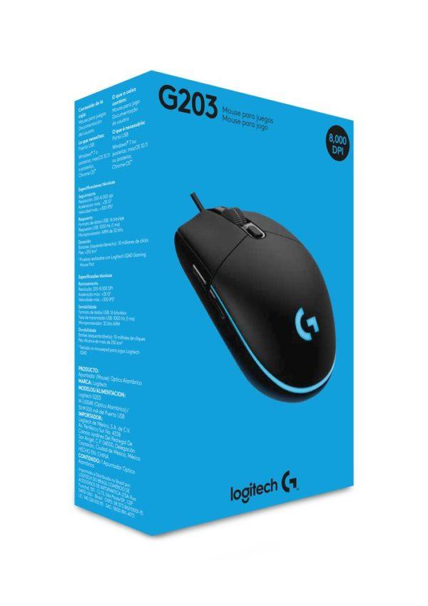 Mouse-Logitech-G203-Prodigy-Bucaramanga