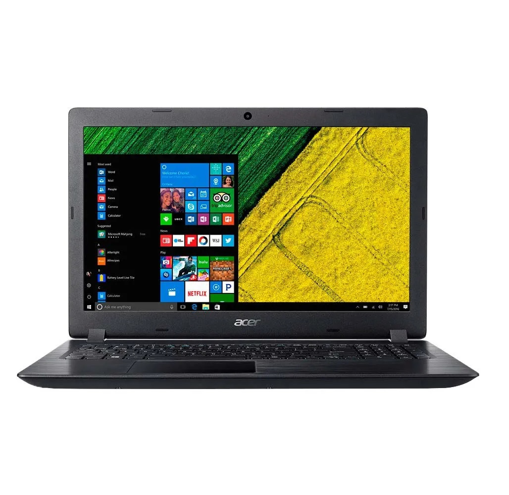 PORTATIL ACER ASPIRE 3 A315- 51- 53C5/Ci5/7200U/1TB/4GB/15.6″/WIN 10 HOME