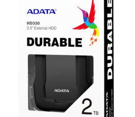 DISCO DURO ADATA HD330 EXTERNO 2 TB USB 3.1″ ANTIGOLPES